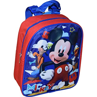 """Mickey And The Roadster Racers 10"""" Small Backpack 