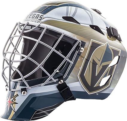 Franklin Sports Nhl Vegas Golden Knights Hockey Goalie Face Mask Goalie Mask For Kids Street Hockey Youth Nhl Team Street Hockey Masks Goalie Masks Amazon Canada