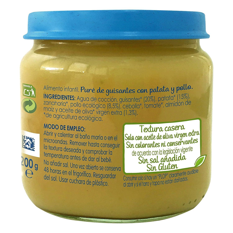 NESTLÉ NATURNES BIO puré Zanahoria y Tomate con Pavo 6 x 200 g: Amazon.es: Alimentación y bebidas