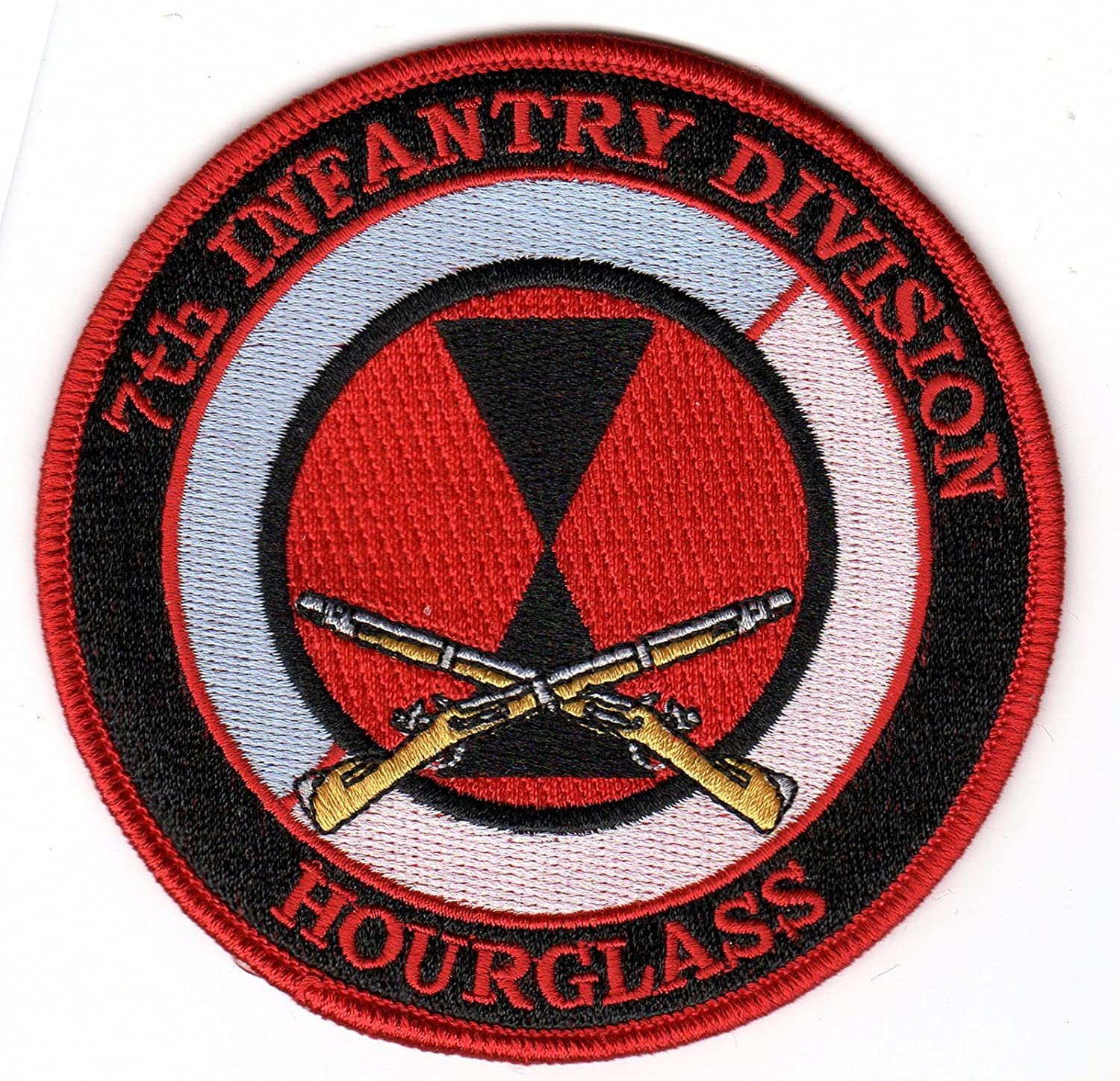 Amazon.com  7th Infantry Division Hourglass Patch  Everything Else c47f5287e2c