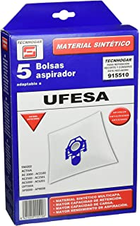 Bolsas Aspirador Ufesa para Modelos: AC4100, AC4200, AC4818 ...