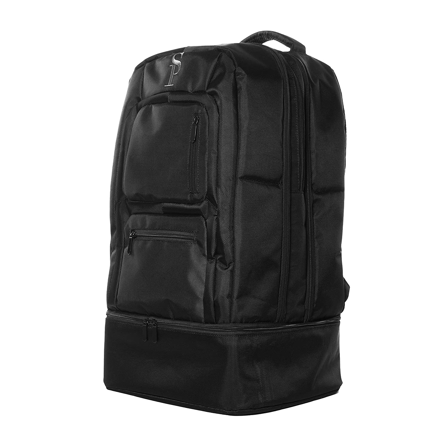 10afba9b5a Amazon.com  Sole Premise Laptop Shoe Carry-On Luggage Travel  Multi-functional Sneaker Backpack Bag for Men   Women Black  Sole Premise
