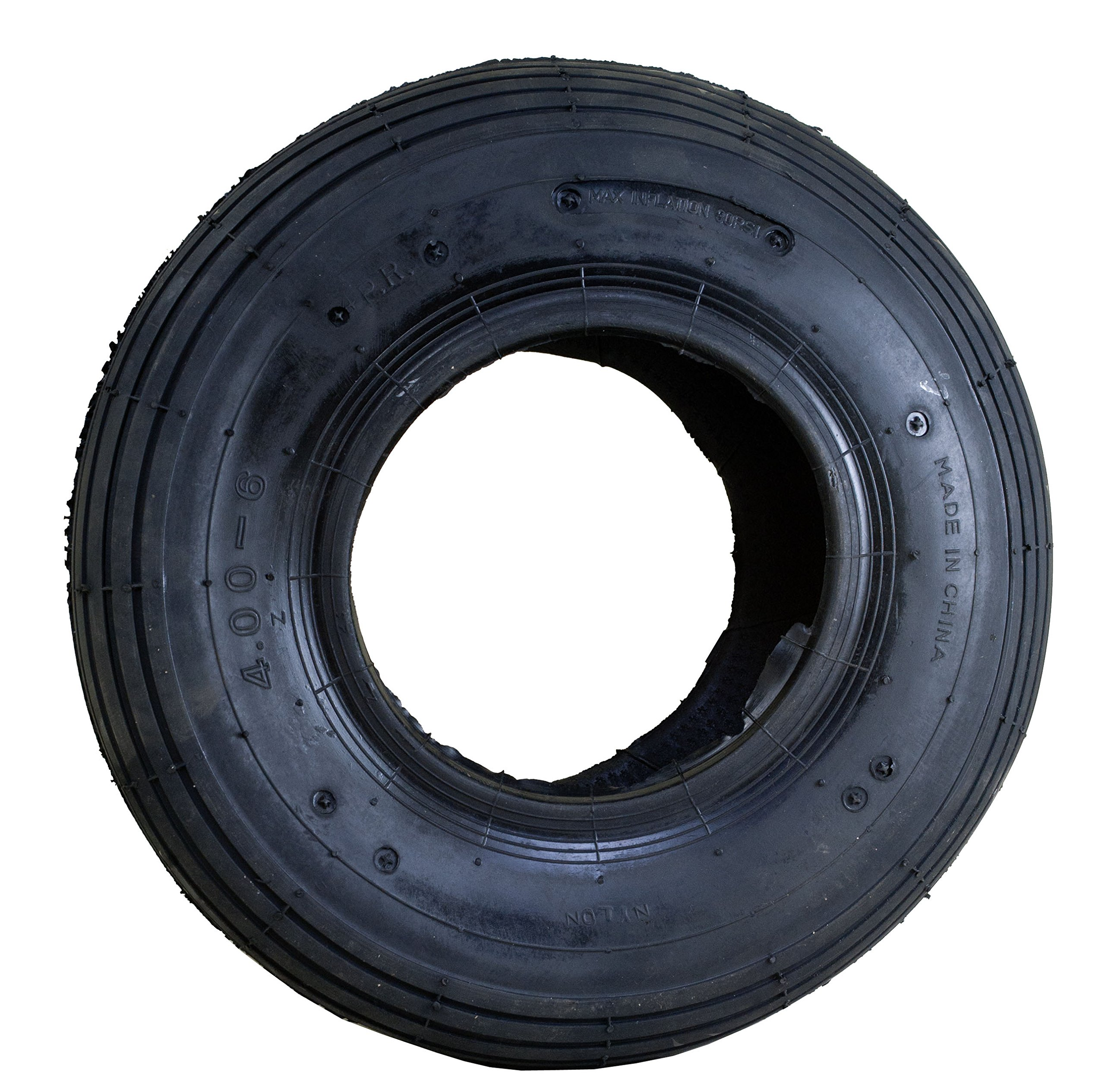 Marathon 4.00-6'' Replacement Pneumatic (Air Filled) Tire