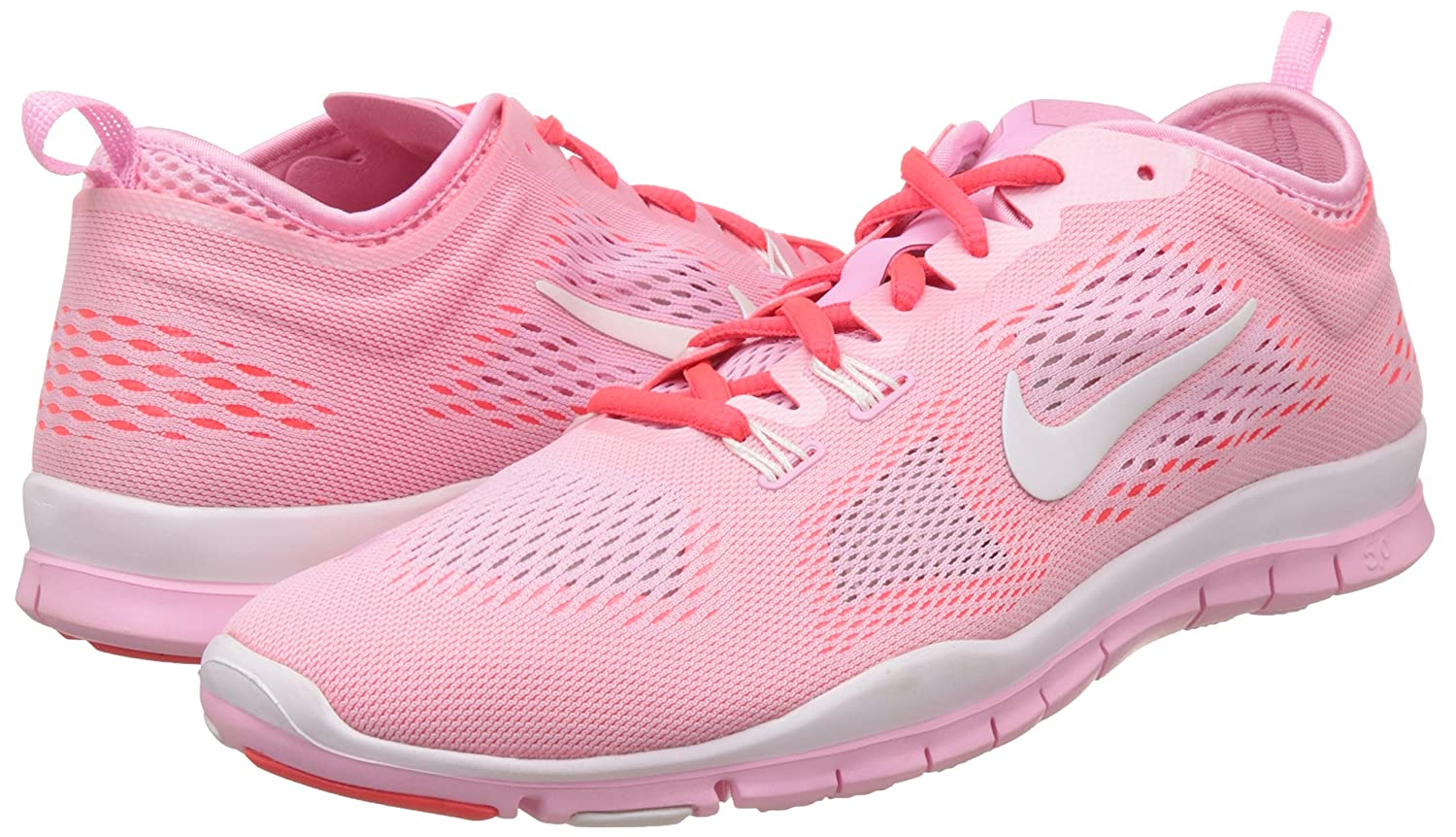 super popular 92f68 3de1e Amazon.com   Nike Free 5.0 Train Fit 4 Breath Womens Cross Trainer Shoes  641875-600 Perfect Pink 8.5 M US   Road Running