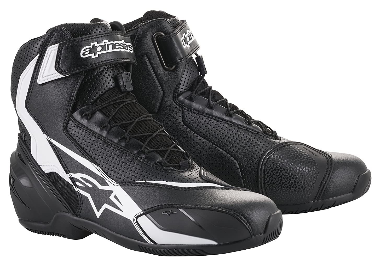 SP-1 v2 Vented Motorcycle Street Road Riding Shoe 40 EU, Black Black