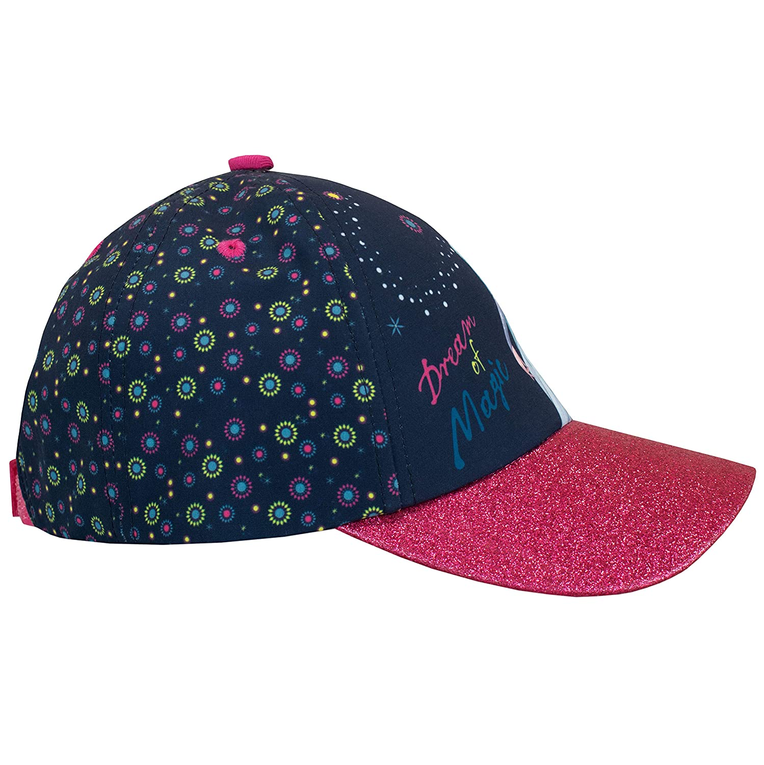 Disney Girls Frozen Baseball Cap One-Size Blue