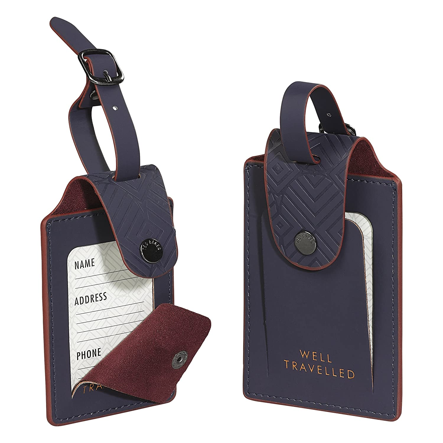 34dfcb5d8733e Ted Baker Set of 2 Luggage Tags