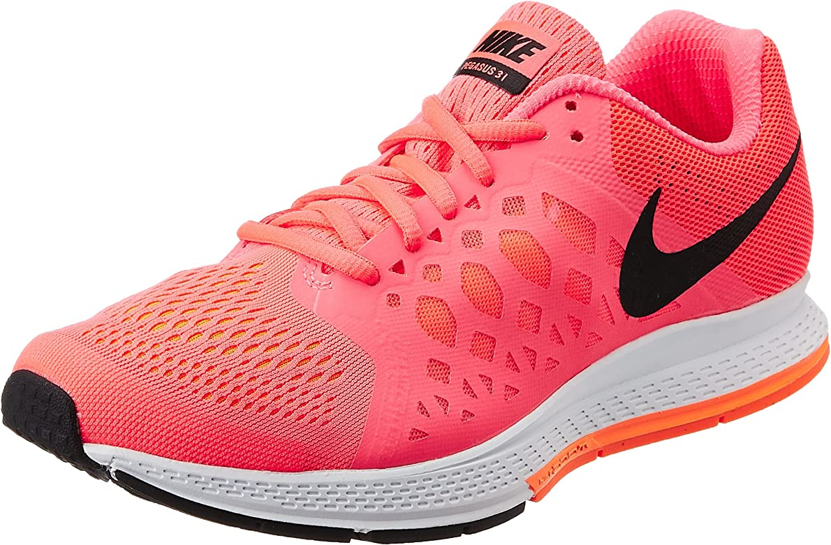 Nike - Air Zoom Pegasus 31, Scarpe Da Corsa da donna, Hyper Punch/Black/Total Orange, 41.5: Amazon.es: Zapatos y complementos