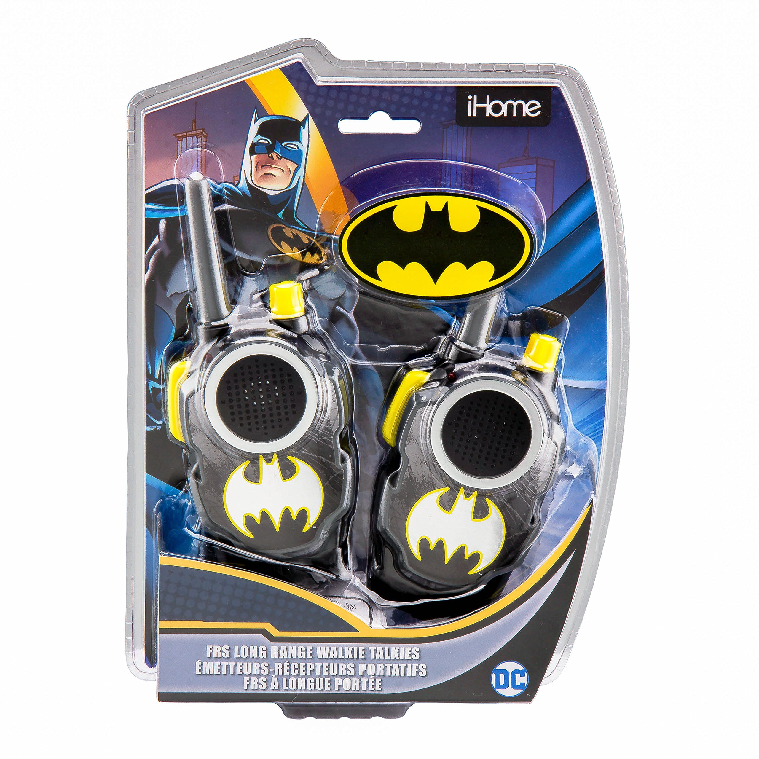 Batman Walkie Talkies - FRS, Long Range, Walkie Talkies for Kids
