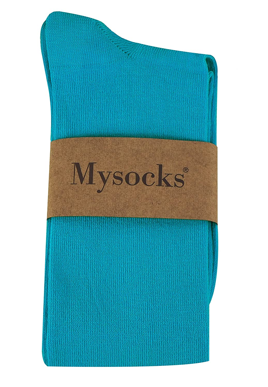 Mysocks Calcetines por encima de la rodilla Llanura