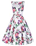 Belle Poque Belted 1950s Vintage Retro Swing Dress 2017 New Homecoming Dress BP02