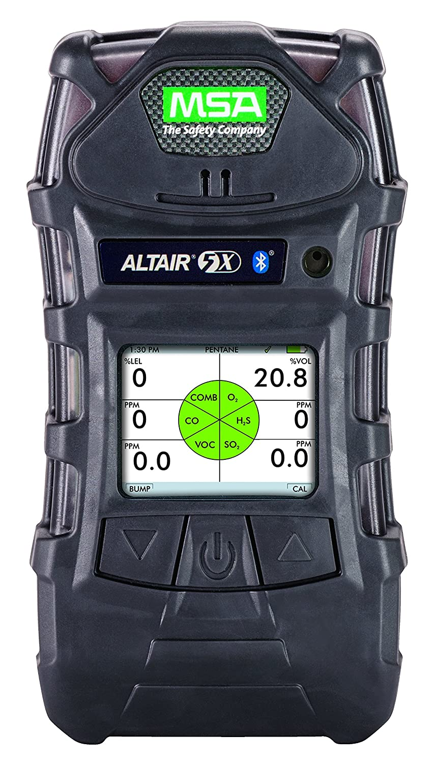 MSA 10116924 ALTAIR 5X Gas Detector, Monochrome Display Screen, LEL, O2, CO, H2S: Hobbyist Metal Detectors: Amazon.com: Industrial & Scientific