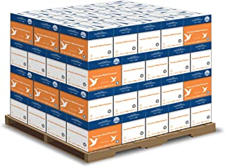 product image for Hammermill Printer Paper, Premium Multipurpose Paper 24 lb, 8.5 x 11-1 Pallet (160,000 Sheets) - 92 Bright, Made in the USA
