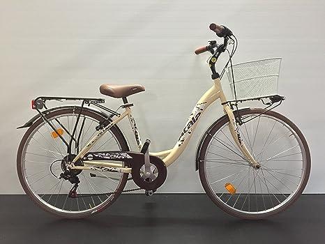 Bicicleta Mujer City Bike Atala Village Nuova con marco de acceso ...