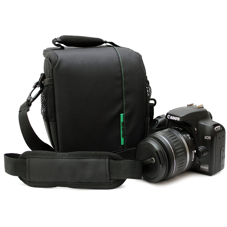 RivaCase RV 7420 - Bolsa para cámara réflex, Negro: Amazon.es ...
