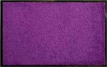 primaflor ideen in textil tapis d entree clean 40 x 60cm lilas paillasson d entree anti poussiere interieur et exterieur tapis antiderapant