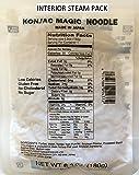 Easy to Prepare, No Boiling, Shirataki Magic Noodles [4-pk vaccum-sealed steam pack], Non-GMO, Gluten-Free, No Drain/Rinse needed, Vegan, Konjac, Konnyaku, Low Carb, Low Calories, Instant