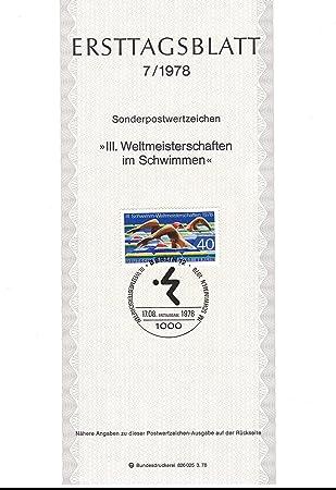 Swimming at the 1978 World Aquatics Championships