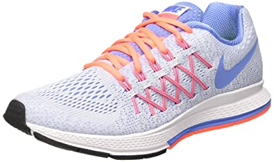 best sneakers dbc3f 615e5 Nike Girls  Zoom Pegasus 32 (Gs) Running Shoes Multicolour Size  35.5 EU