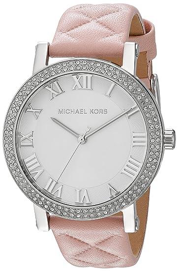 Michael Kors Reloj Analógico para Mujer de Cuarzo con Correa en Cuero MK2617: Amazon.es: Relojes