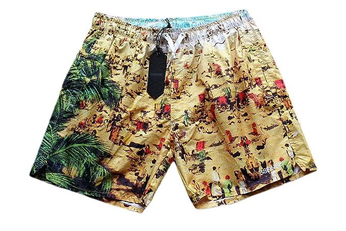 Pantaloncini Da Bagno Ragazzo : Sseinse costume da bagno uomo ragazzo swimwear boxer slip aderente