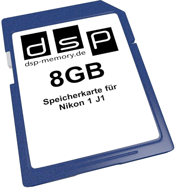 DSP Memory Z de 4051557402782 tarjeta de memoria de 8 GB para Nikon 1 J1