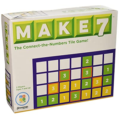 Pressman Make 7 Game: Toys & Games