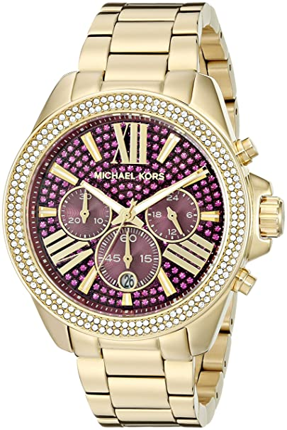 a96444e87449 Amazon.com  Michael Kors Women s Wren Gold-Tone Watch MK6290  Michael Kors   Watches