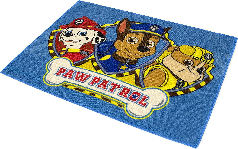 Everest /& Skye praktische Reinigung Spielfreundlich Junge und M/ädchen Carpet Studio Teppich Kinderzimmer PAW Patrol 95x125cm Rutschfester R/ücken