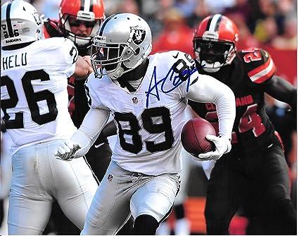 Amari Cooper Oakland Raiders Autographed Signed 8 x 10 Photo - Near Mint  Condition - COA 60bc3be89