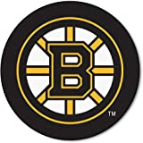 FANMATS NHL Boston Bruins Nylon Face Hockey Puck Rug