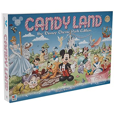 Disney Parks Exclusive Candyland Theme Park Edition Game: Toys & Games