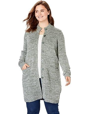 e29a606bae Women's Plus Cardigans | Amazon.com