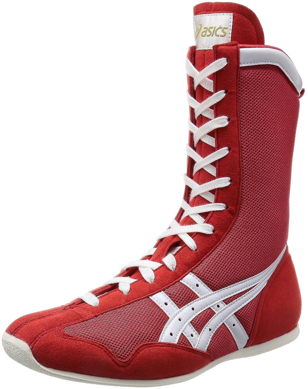 [アシックス] ボクシングシューズ ボクシングMS B001CKXDUG 24.5 cm レッド/ホワイト