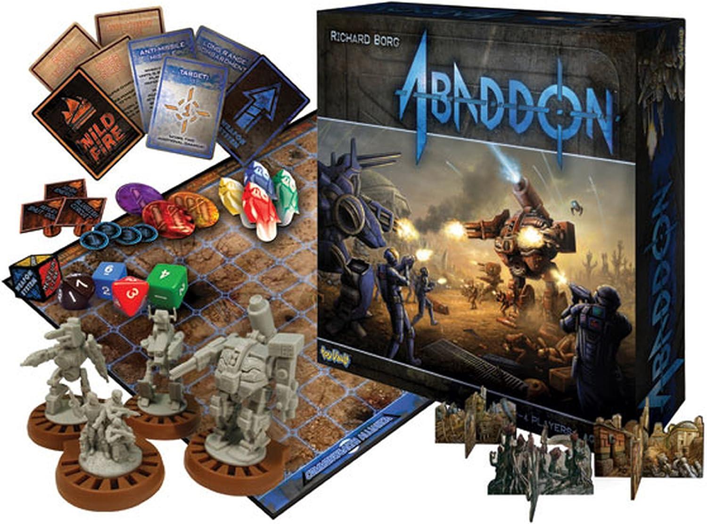 Abaddon Board Game - Juego de Tablero (Toyvault TOY75002) (versión en inglés): Amazon.es: Juguetes y juegos