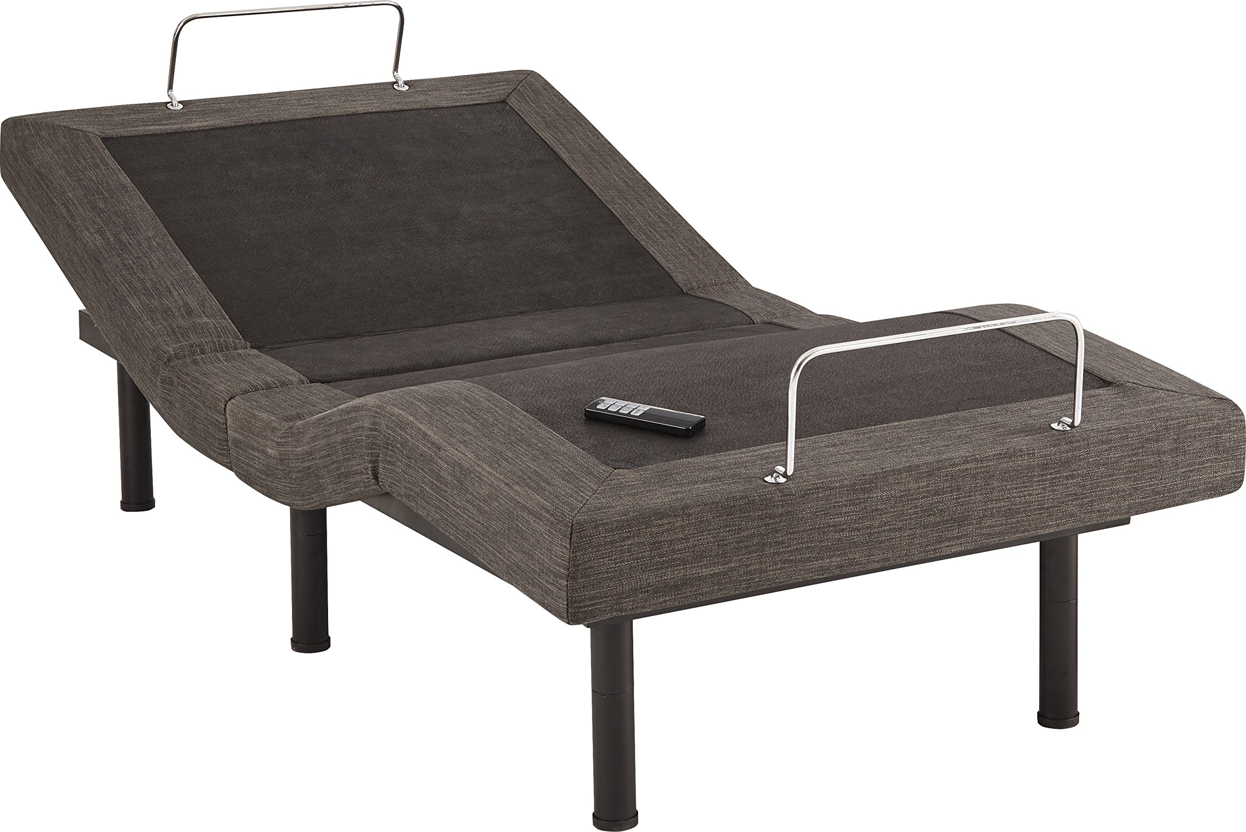 Flex Form Lifestyle Adjustable Bed Frame / Mattress Foundation with Wireless Remote, Twin XL/Split King