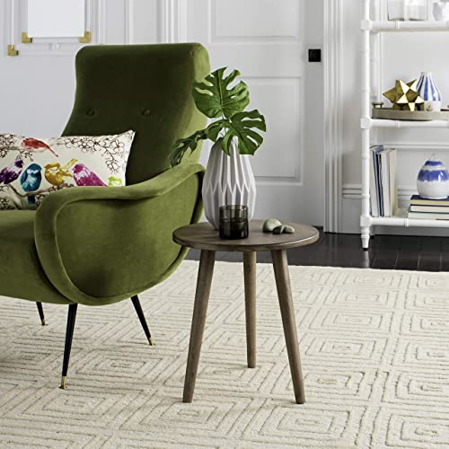 Reviewed: Safavieh Home Orion Modern Chocolate Round Accent Table