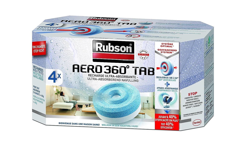 Rubson Aero Lote de recargas para absorbedor de humedad unidades