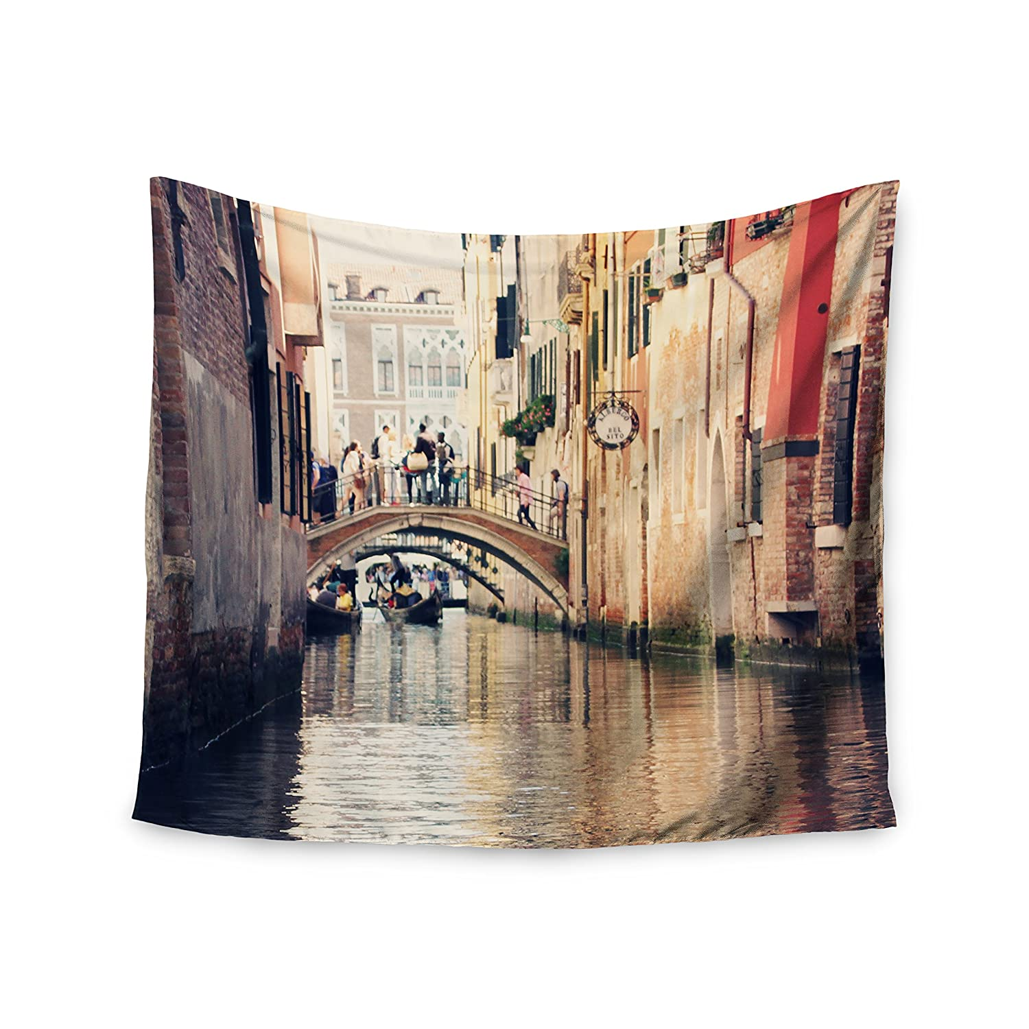 51 x 60 Kess InHouse Sylvia Coomes Venice 10 Beige Brown Wall Tapestry