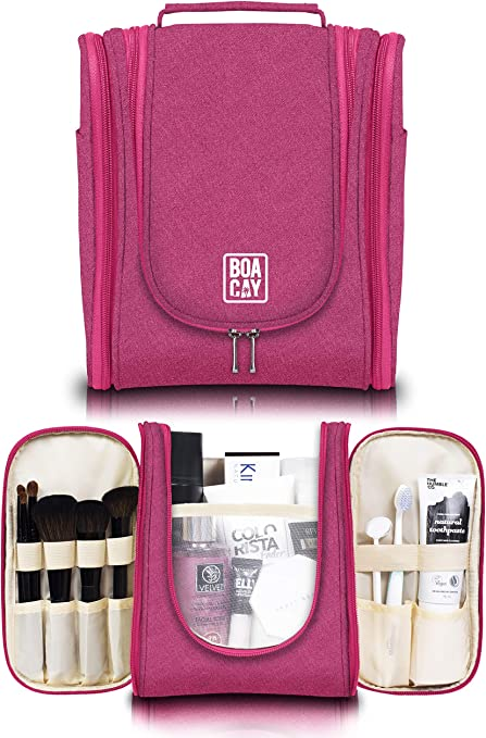 Bolsa de aseo de viaje para mujeres y hombres | Bolsa de higiene | Kit organizador