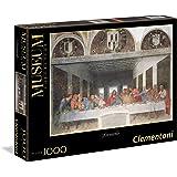 Clementoni - 31447 - Museum Collection Puzzle - Leonardo, Cenacolo - 1000 Pezzi