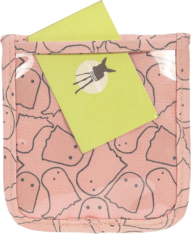 Rosa Spooky L/ÄSSIG Brustbeutel Junge M/ädchen Brusttasche Umh/ängetasche Geldbeutel Kordel mit Kindersicherung // Mini Neck Pouch 13 cm