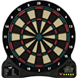 Fat Cat by GLD Products 727 Electronic Dartboard Value Size Over 15 Games and 132 Options Auto-Scoring Compact Display with M