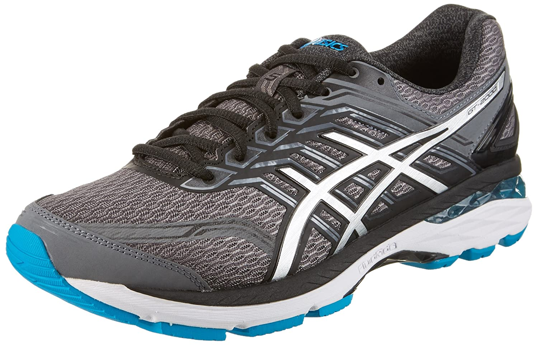 gris (voiturebon argent Island bleu) 42.5 EU ASICS Gt-2000 5, Chaussures de FonctionneHommest Compétition Homme