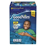 Amazon Price History for:GoodNites Bedtime Pants for Boys, Size Large/Extra Large, 34 Count
