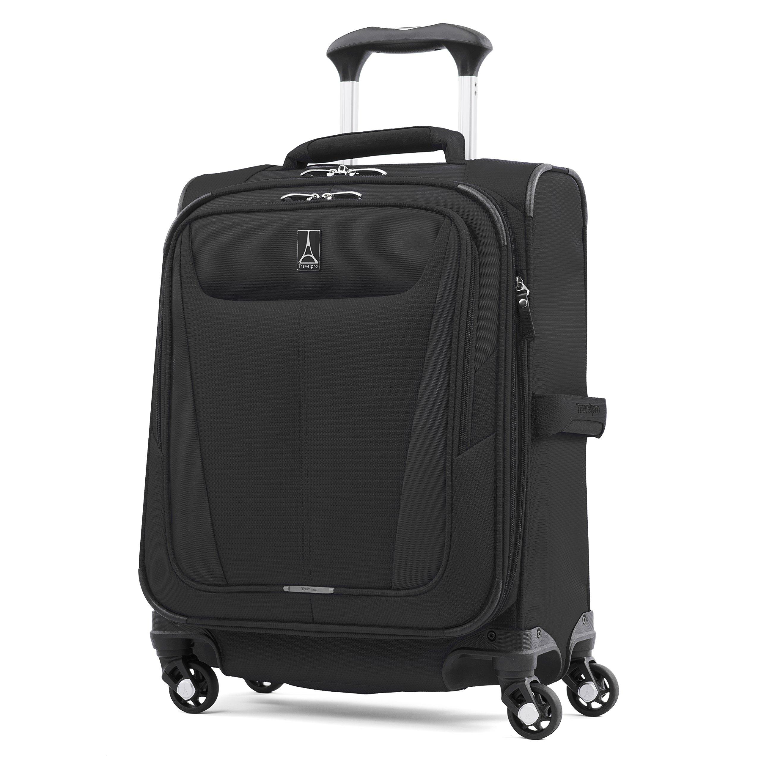 Travelpro Luggage Maxlite 5 International Expandable Spinner Suitcase Carry-On, Black