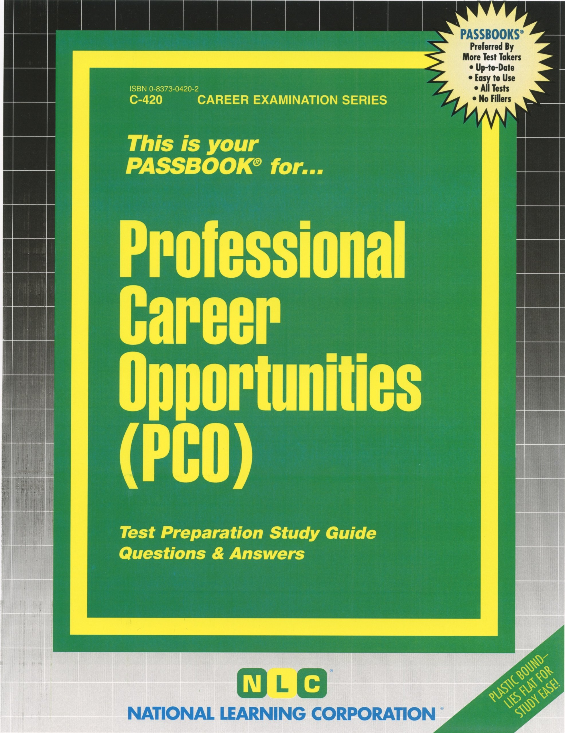 Professional Career Opportunities (PCO) (Passbooks): Passbooks:  9780829304206: Amazon.com: Books