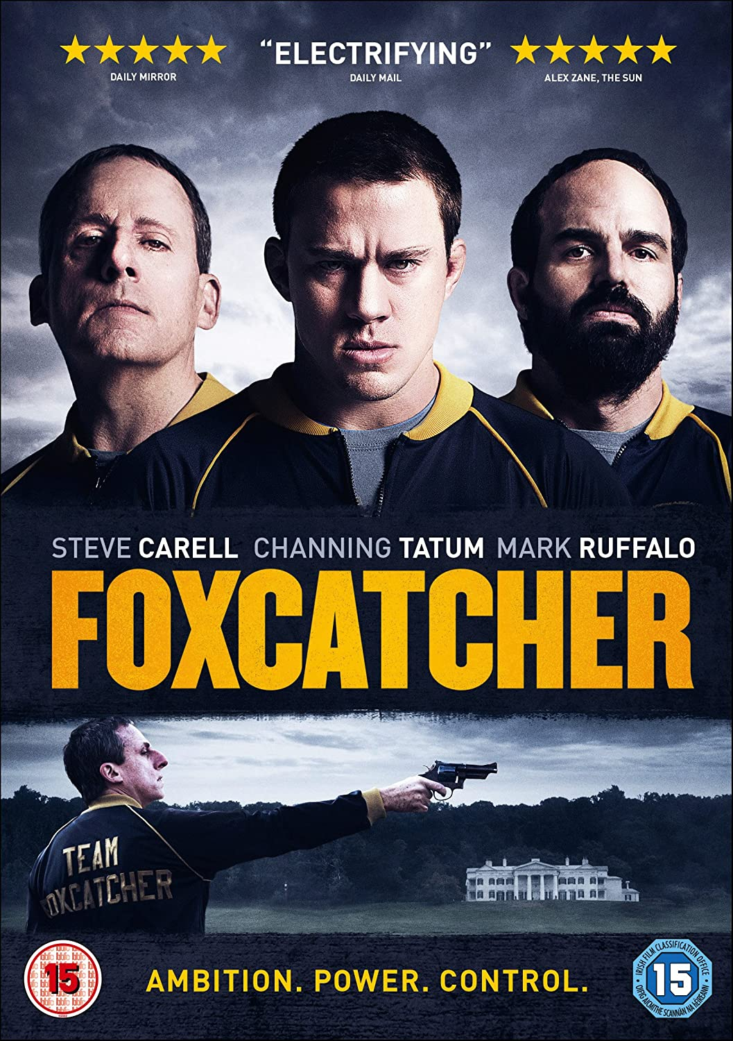 Foxcatcher [DVD] [] Amazon.co.uk Steve Carell Channing