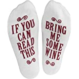 "Haute Soiree - Women's Novelty Socks - ""If You Can Read This"