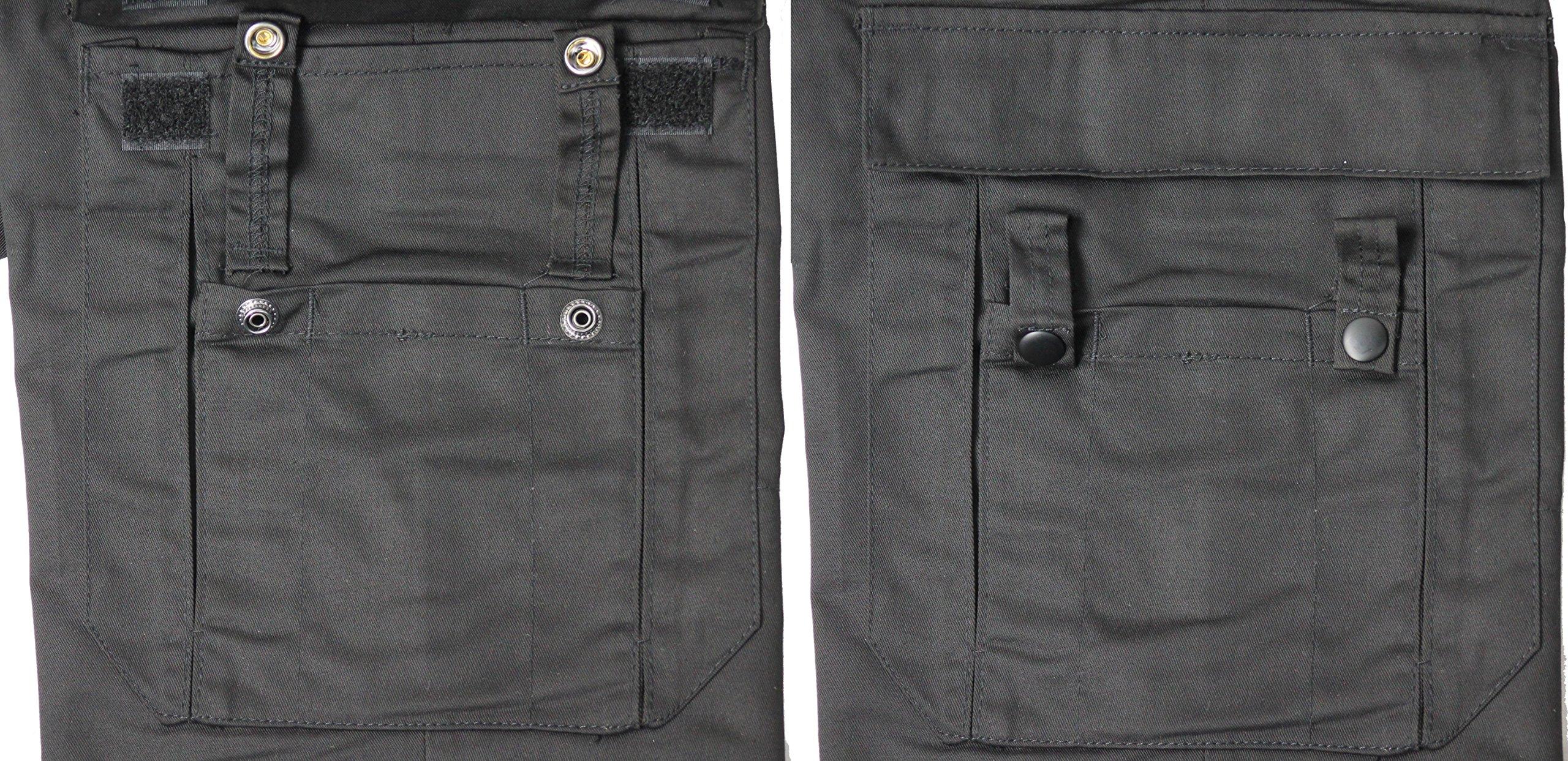 Army Universe Black Uniform 9 Pocket Cargo Pants 6144a5c9c4c